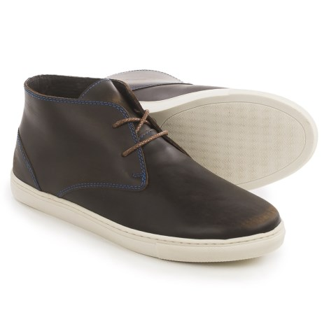 Robert Wayne Dex Chukka Boots - Leather (For Men) in Brown