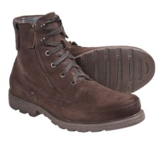 Robert Wayne Granger Lace-Up Boots - Double Zip (For Men) in Brown Suede - Closeouts