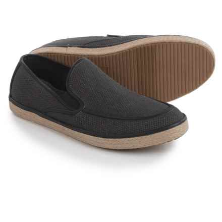 Robert Wayne Paco Shoes - Slip-Ons (For Men) in Black - Closeouts
