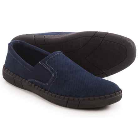 Robert Wayne Road Shoes - Slip-Ons (For Men) in Navy - Closeouts