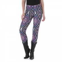 Rock 47 by Wrangler Printed Leggings (For Women) in Berry/Rust - Closeouts