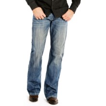 Rock & Roll Cowboy Double Barrel Bootcut Jeans - Relaxed Fit (For Men) in Medium Wash - Closeouts