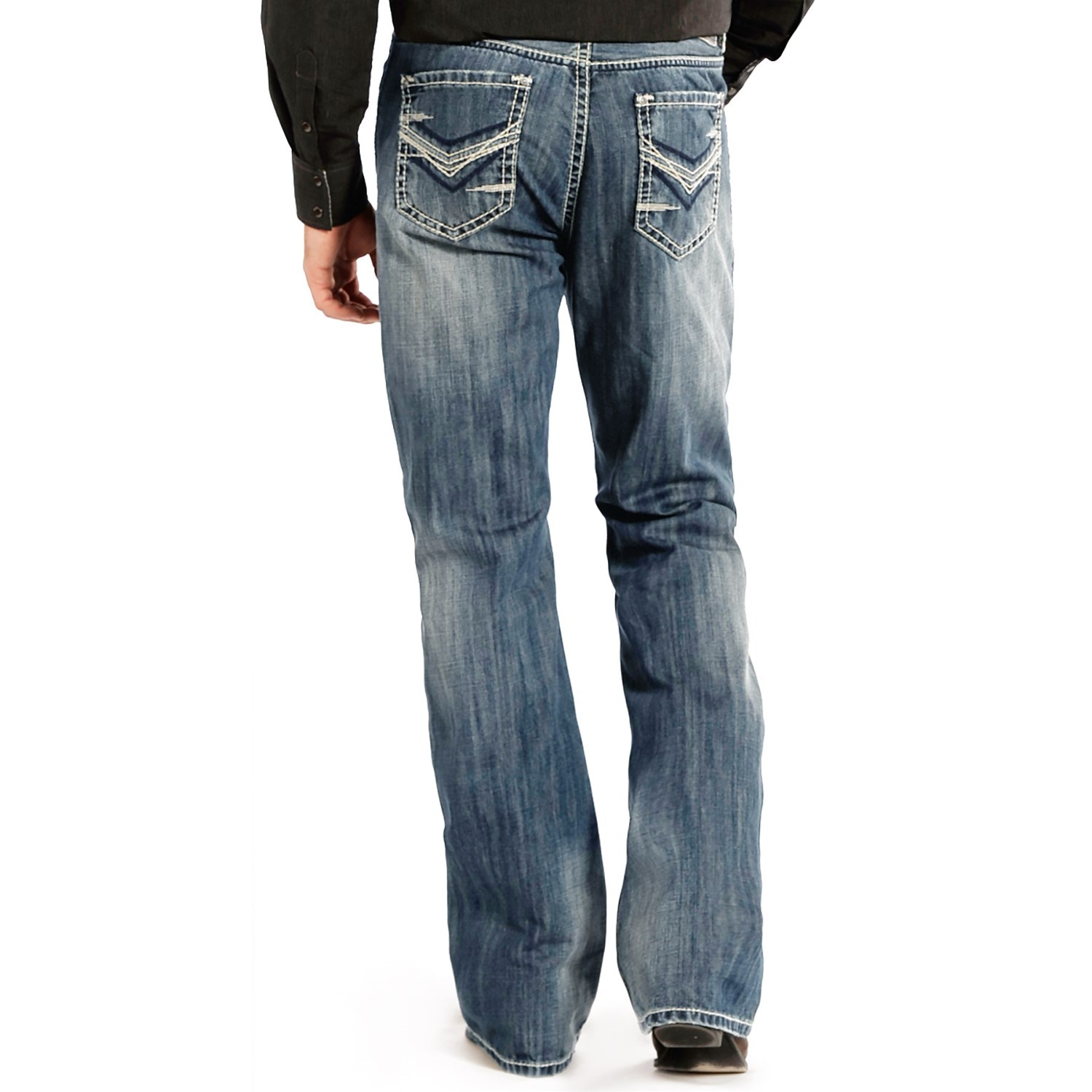 Men's relaxed fit bootcut jeans uk – Global fashion jeans models