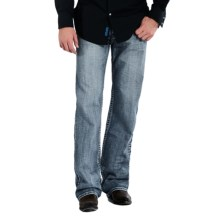 Rock & Roll Cowboy Double Barrel Connected V Jeans - Relaxed Fit, Straight Leg (For Men) in Medium Vintage Wash - Closeouts