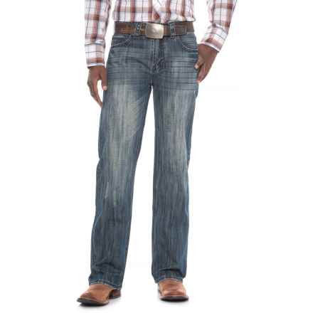 Rock & Roll Cowboy Double Barrel Jeans - Relaxed Fit, Straight Leg (For Men) in Medium Wash - Overstock