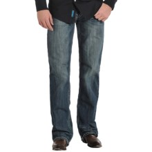 Rock & Roll Cowboy Double Barrel Wide-V Jeans - Straight Leg, Relaxed Fit (For Men) in Vintage Wash - Closeouts