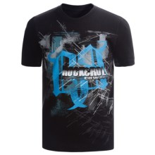 Rock & Roll Cowboy Logo T-Shirt - Short Sleeve (For Boys) in Black/Blue - Closeouts