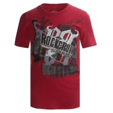 Rock & Roll Cowboy Logo T-Shirt - Short Sleeve (For Boys) in Red/Black - Closeouts