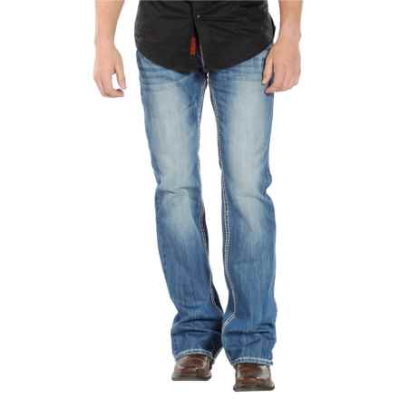 Rock & Roll Cowboy Pistol Jeans - Slim Fit, Bootcut (For Men) in Medium Wash - Closeouts