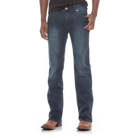 Rock & Roll Cowboy Pistol Reflex Jeans - Straight Leg (For Men) in Vintage Dark Wash - Closeouts