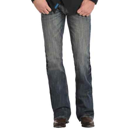 Rock & Roll Cowboy Pistol Simple V Jeans - Bootcut (For Men) in Vintage Wash - Closeouts