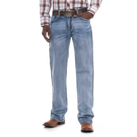 Rock & Roll Cowboy Reflex Double Barrel Jeans - Relaxed Fit, Straight Leg (For Men) in Light Wash - Overstock