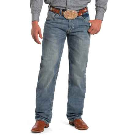 Rock & Roll Cowboy Tuf Cooper Jeans - Competition Fit, Straight Leg (For Men) in Medium Wash - Closeouts
