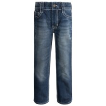 Rock & Roll Cowboy V-Pocket Jeans - Bootcut (For Little and Big Boys) in Dark Vintage Wash - Closeouts