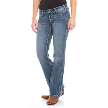 Rock & Roll Cowgirl Extra Stretch Riding Jeans - Bootcut in Light Vintage - Closeouts