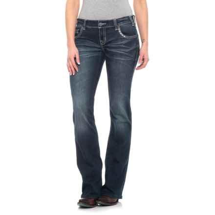 caf273599357 Rock & Roll Cowgirl Dark Vintage Wash Original Jeans (For Women ...
