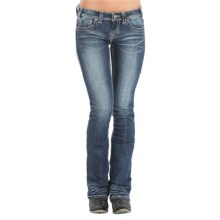 Rock & Roll Cowgirl Rival Bootcut Jeans - Low Rise (For Women) in Medium Vintage Wash - Overstock