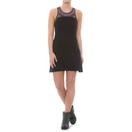 Rock & Roll Cowgirl Southwest Trim Dress - Sleeveless (For Women) in Black - Closeouts