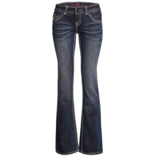 Rock & Roll Cowgirl Studded Jeans - Low Rise, Bootcut (For Women) in Dark Wash - Closeouts