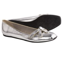 Rocket Dog Abatha Ballet Flats (For Women) in Silver Little Gem - Closeouts