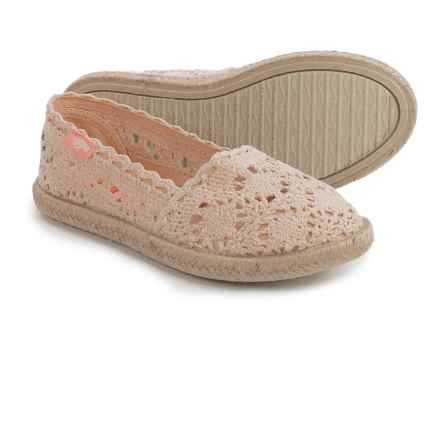Rocket Dog Acosta Shoes - Slip-Ons (For Little and Big Girls) in Natural - Closeouts