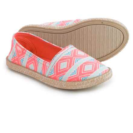 Rocket Dog Acosta Shoes - Slip-Ons (For Little and Big Girls) in Pink - Closeouts
