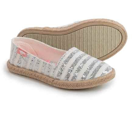 Rocket Dog Acosta Shoes - Slip-Ons (For Little and Big Girls) in Silver - Closeouts