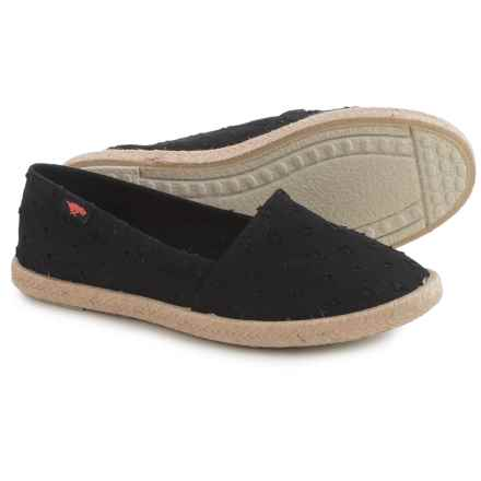 Rocket Dog Acosta Shoes - Slip-Ons (For Women) in Black - Closeouts