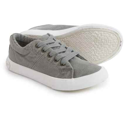 Rocket Dog Campo Canvas Sneakers (For Little and Big Girls) in Grey - Closeouts