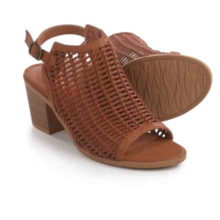 Rocket Dog Cleveland Sandals - Vegan Leather (For Women) in Tan - Closeouts