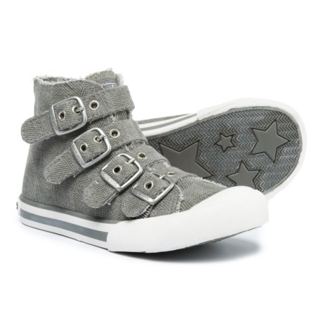 Rocket Dog Jaimme High-Top Sneakers - Buckle Strap (For Girls)