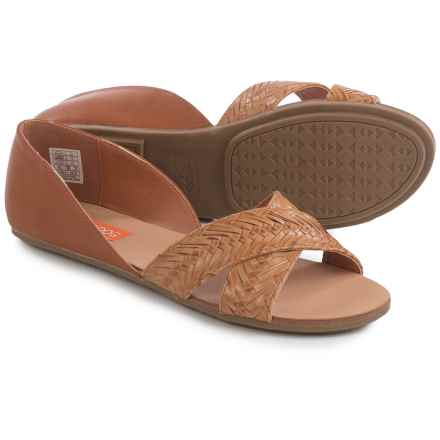 Rocket Dog Jenkins Sandals - Vegan Leather (For Women) in Tan - Closeouts