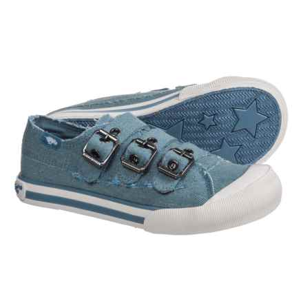 Rocket Dog Jolissa Sneakers - Buckle Strap (For Girls) in Blue - Closeouts
