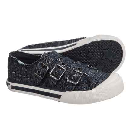 Rocket Dog Jolissa Sneakers - Buckle Strap (For Girls) in Navy - Closeouts