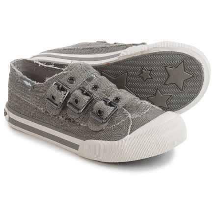 Rocket Dog Jolissa Sneakers - Buckle Straps (For Little and Big Girls) in Grey - Closeouts