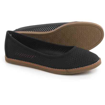 Rocket Dog Kaira Ballet Flats - Vegan Leather (For Women) in Black - Closeouts
