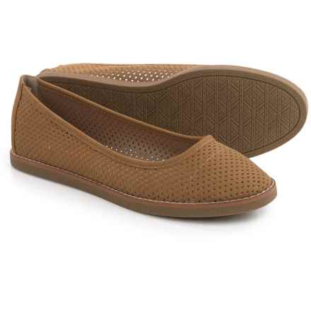 Rocket Dog Kaira Ballet Flats - Vegan Leather (For Women) in Natural - Closeouts