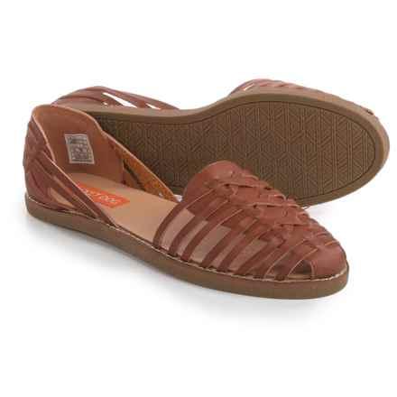 Rocket Dog Kelton Shoes - Vegan Leather, Slip-Ons (For Women) in Tan - Closeouts