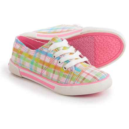 Rocket Dog Volcano Sneakers (For Little and Big Girls) in Pink Multi - Closeouts