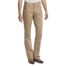 Rockies Cody Jeans - Natural Rise, Relaxed Fit, Bootcut (For Women) in Khaki - Closeouts