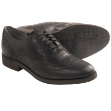 Rockport Alanda Brogue Derby Oxford Shoes - Leather (For Women) in Black - Closeouts