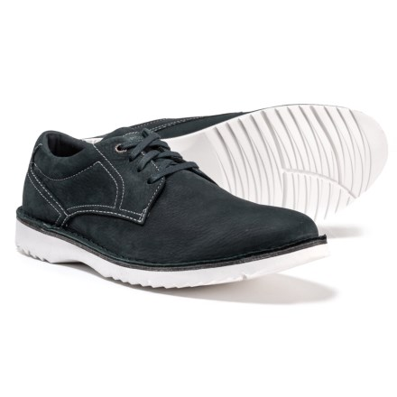 0b8c421c6d5d Rockport Cabot Plain-Toe Oxford Shoes - Leather (For Men) in Navy Nubuck