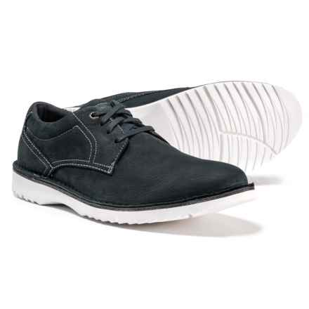 Rockport Cabot Plain-Toe Oxford Shoes - Leather (For Men) in Navy Nubuck - Closeouts