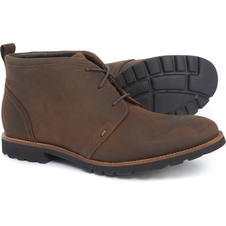 Rockport Charson Chukka Boots Leather For Men