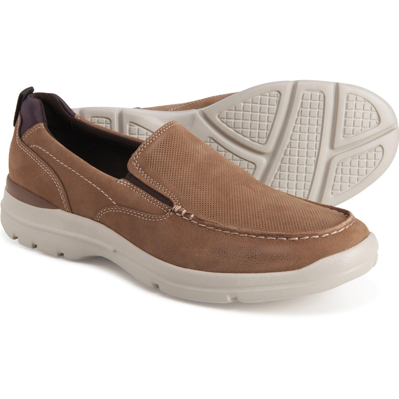 mens rockport slip on shoes