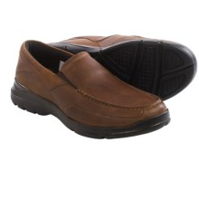 Rockport City Play Two Shoes - Leather (For Men) in Dark Tan - Closeouts