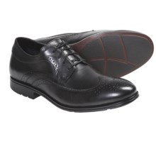 Rockport Fairwood 2 Wingtip Oxford Shoes (For Men) in Black Smooth - Closeouts