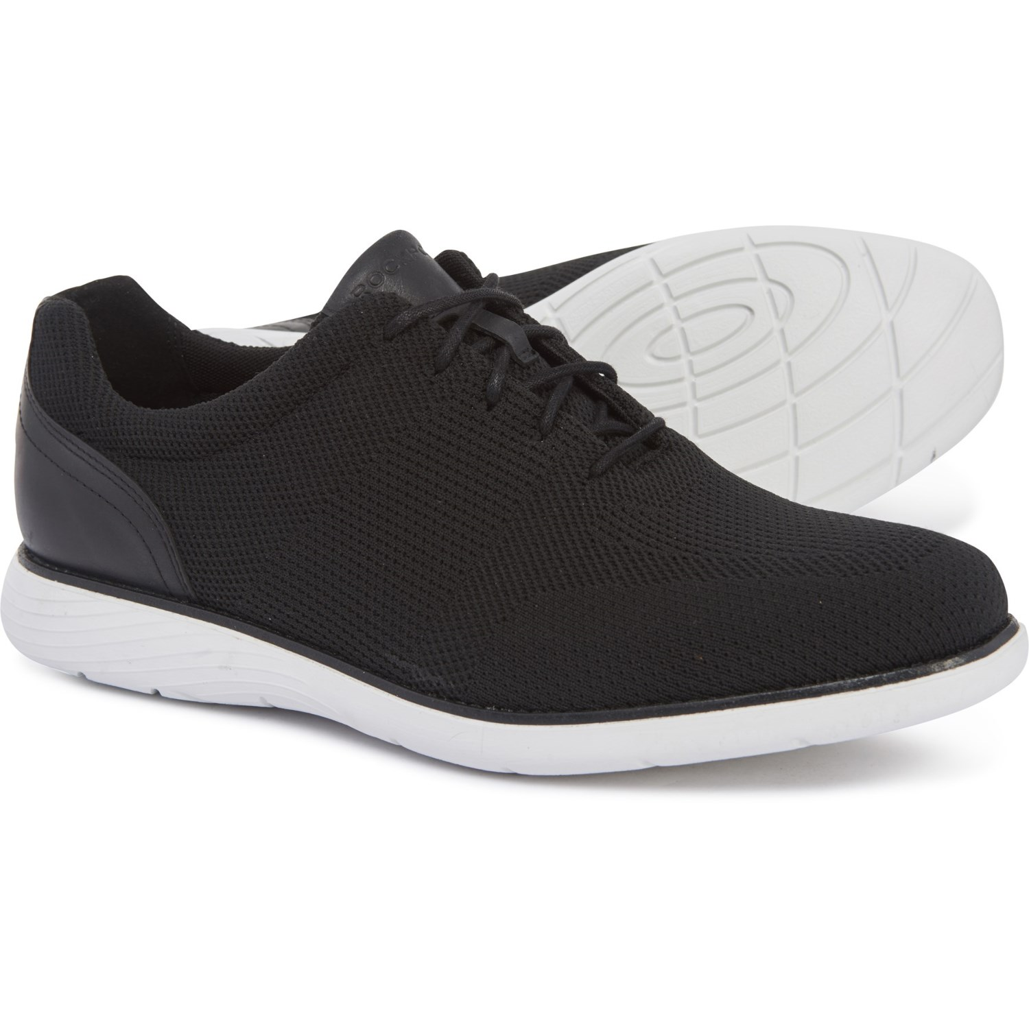 Rockport Garett Mesh Lace Up Sneakers For Men