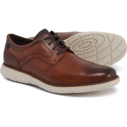 c144e873448e Rockport Garett Plain-Toe Oxford Shoes - Leather (For Men) in Cognac
