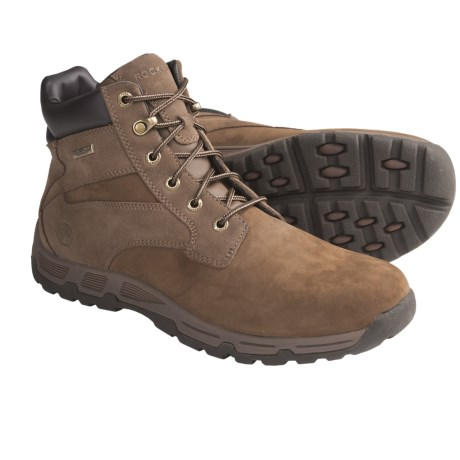 Rockport Heritage Heights Boots - Waterproof, Plain Toe (For Men) in Vicuna Nubuck